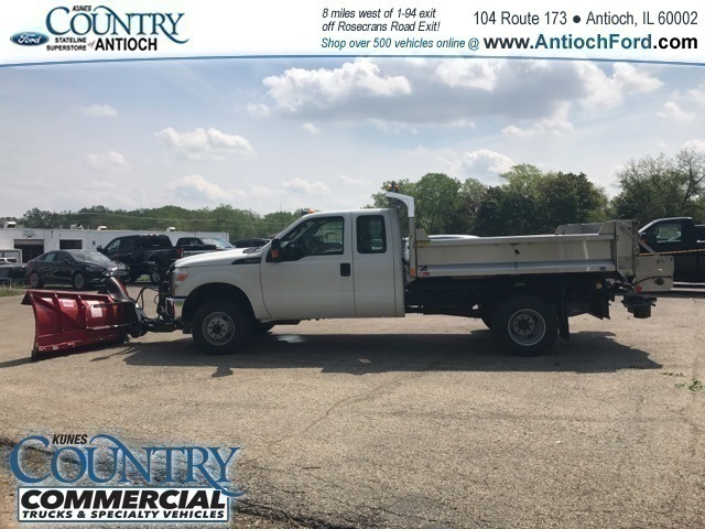 2016 F-350 Super Cab DRW 4x4,  Monroe Dump Body #T8158 - photo 4