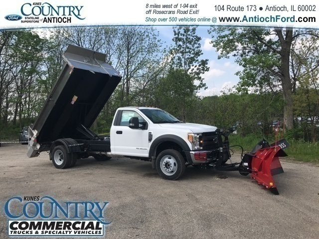 2017 F-450 Regular Cab DRW 4x4,  Monroe Dump Body #T8224 - photo 9