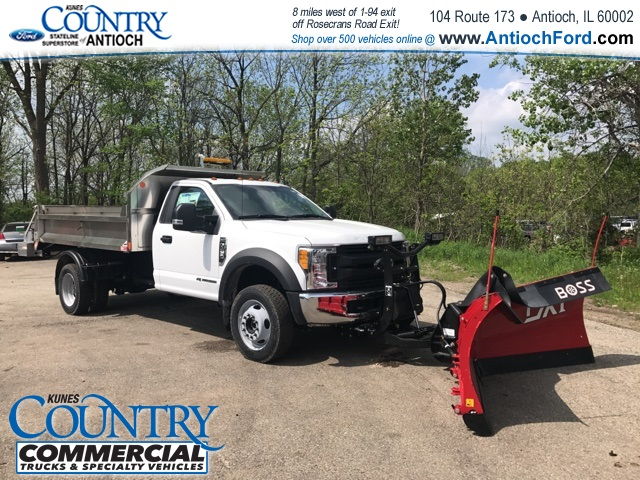 2017 F-450 Regular Cab DRW 4x4, Monroe Dump Body #T8224 - photo 3