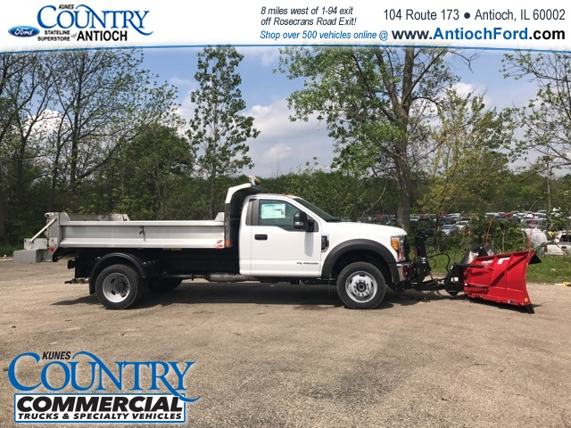2017 F-450 Regular Cab DRW 4x4, Monroe Dump Body #T8224 - photo 5