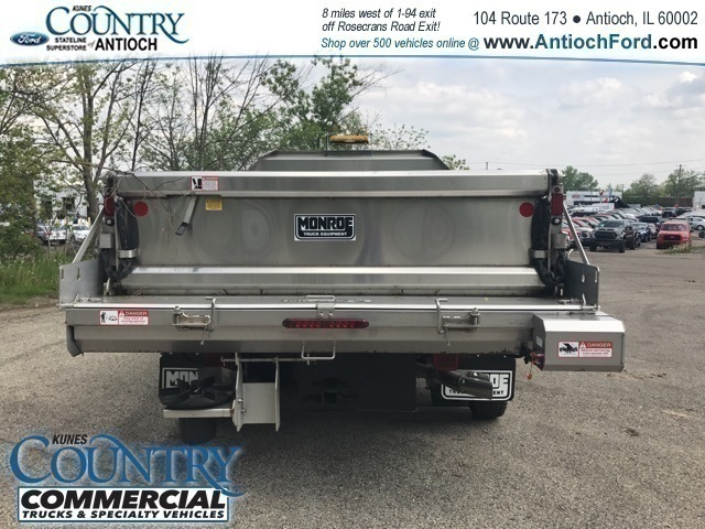 2017 F-450 Regular Cab DRW 4x4, Monroe Dump Body #T8224 - photo 4