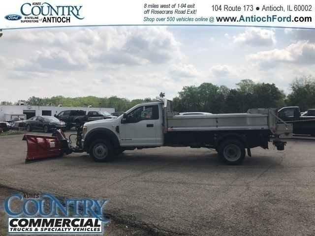 2017 F-450 Regular Cab DRW 4x4,  Monroe Dump Body #T8224 - photo 6