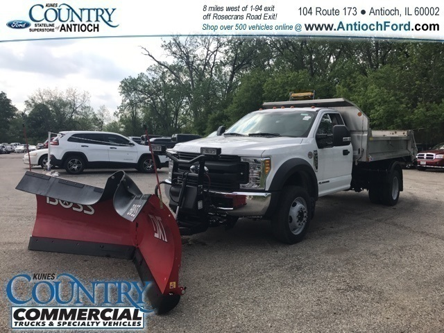 2017 F-450 Regular Cab DRW 4x4,  Monroe Dump Body #T8224 - photo 7
