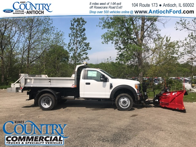 2017 F-450 Regular Cab DRW 4x4, Monroe Dump Body #T8251 - photo 5