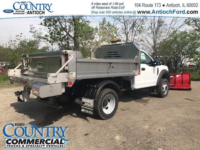 2017 F-450 Regular Cab DRW 4x4, Monroe Dump Body #T8251 - photo 9