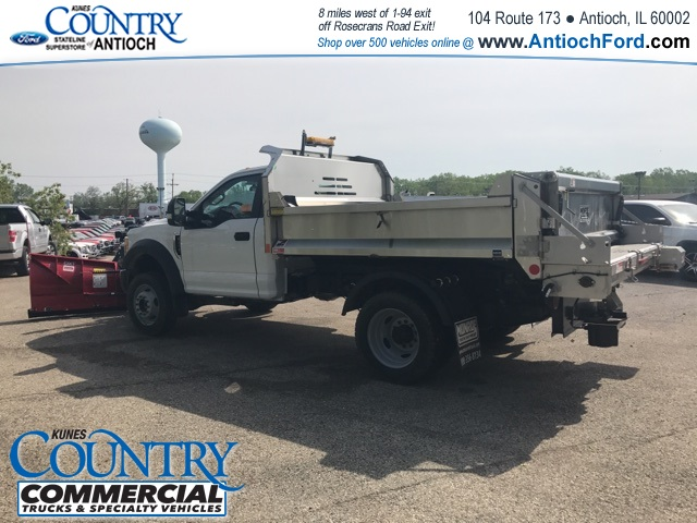 2017 F-450 Regular Cab DRW 4x4, Monroe Dump Body #T8251 - photo 4