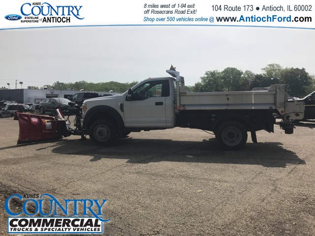 2017 F-450 Regular Cab DRW 4x4, Monroe Dump Body #T8251 - photo 10
