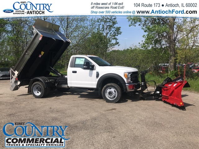 2017 F-450 Regular Cab DRW 4x4, Monroe Dump Body #T8251 - photo 13