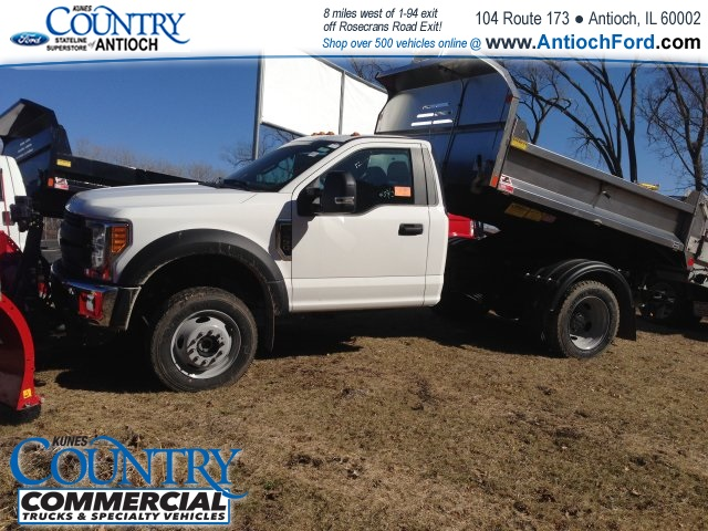 2017 F-450 Regular Cab DRW 4x4, Monroe Dump Body #T8251 - photo 7