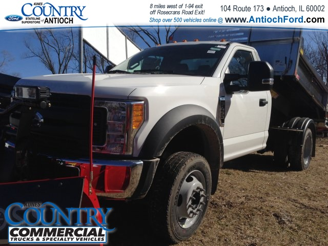 2017 F-450 Regular Cab DRW 4x4, Monroe Dump Body #T8251 - photo 11
