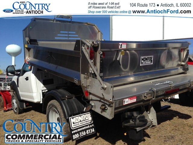 2017 F-450 Regular Cab DRW 4x4, Monroe Dump Body #T8251 - photo 2