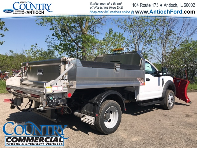 2017 F-550 Regular Cab DRW 4x4, Monroe Dump Body #T8305 - photo 2