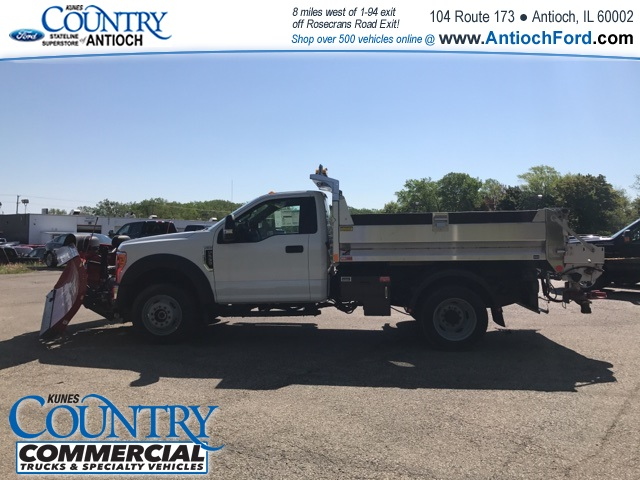 2017 F-550 Regular Cab DRW 4x4, Monroe Dump Body #T8305 - photo 9