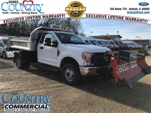 2017 F-350 Regular Cab DRW 4x4,  Monroe MTE-Zee SST Series Dump Body #T8382 - photo 1