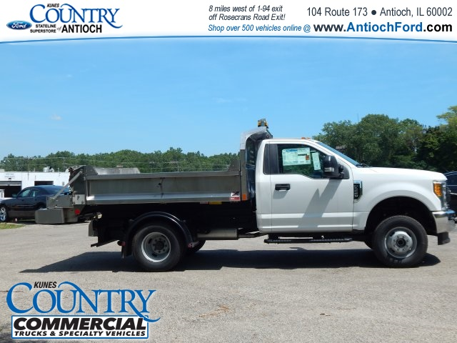 2017 F-350 Regular Cab DRW 4x4, Monroe Dump Body #T8382 - photo 6