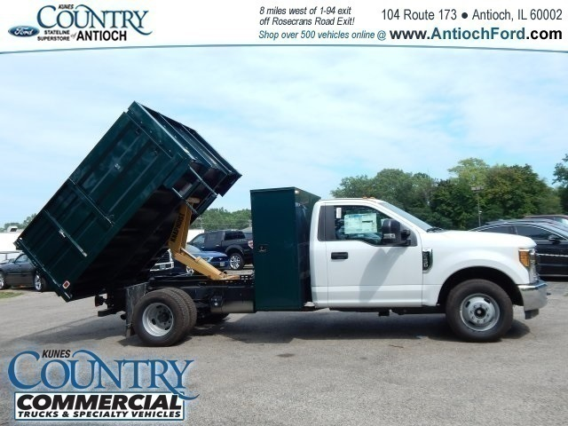 2017 F-350 Regular Cab DRW 4x2,  Knapheide Landscape Dump #T8385 - photo 19
