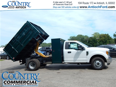 2017 F-350 Regular Cab DRW, Knapheide Landscaper Bodies Landscape Dump #T8385 - photo 24