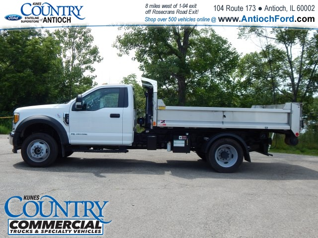 2017 F-550 Regular Cab DRW 4x4, Monroe Dump Body #T8465 - photo 8