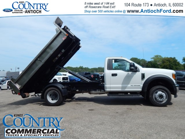 2017 F-550 Regular Cab DRW 4x4, Monroe Dump Body #T8465 - photo 20