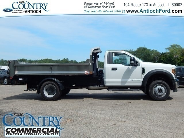 2017 F-550 Regular Cab DRW 4x4,  Monroe Dump Body #T8465 - photo 3