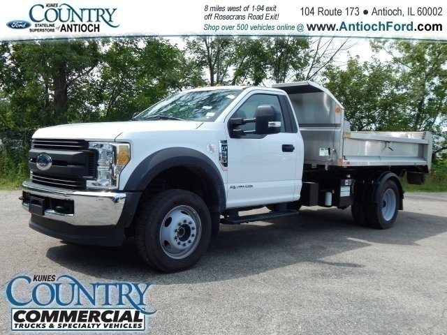 2017 F-550 Regular Cab DRW 4x4,  Monroe Dump Body #T8465 - photo 7