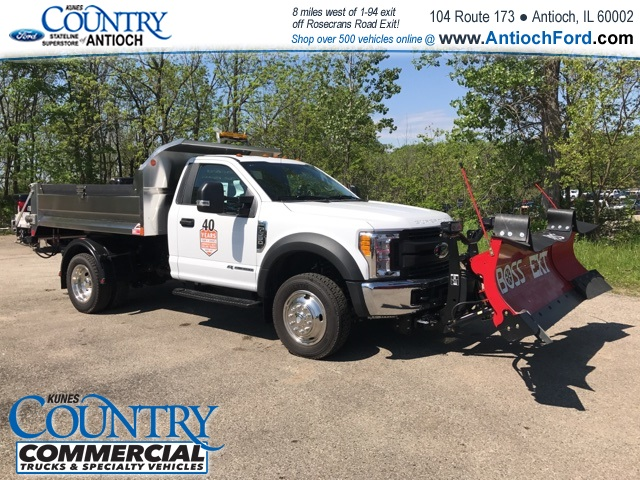 2017 F-550 Regular Cab DRW 4x4, Monroe Dump Body #T8567 - photo 3