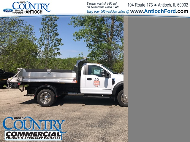 2017 F-550 Regular Cab DRW 4x4, Monroe Dump Body #T8567 - photo 5
