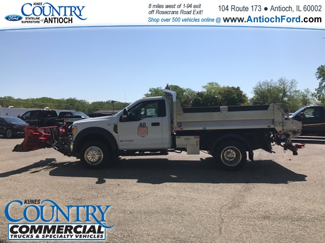 2017 F-550 Regular Cab DRW 4x4, Monroe Dump Body #T8567 - photo 4