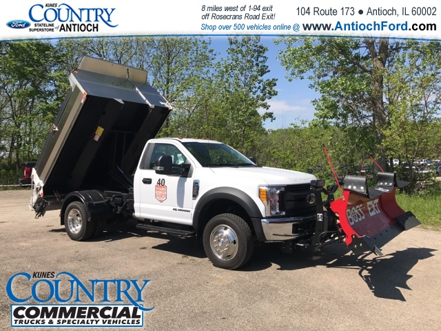 2017 F-550 Regular Cab DRW 4x4, Monroe Dump Body #T8567 - photo 9