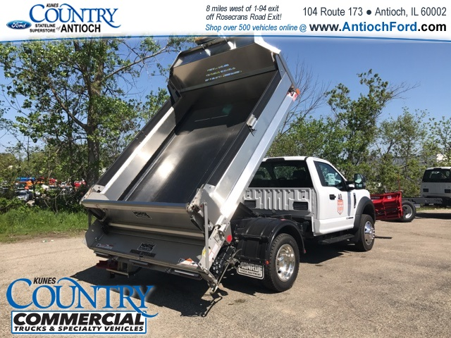 2017 F-550 Regular Cab DRW 4x4, Monroe Dump Body #T8567 - photo 11