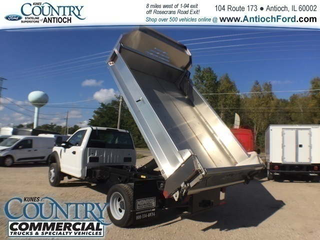 2017 F-450 Regular Cab DRW 4x2,  Monroe Dump Body #T8636 - photo 24