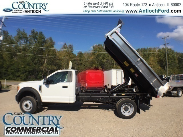2017 F-450 Regular Cab DRW 4x2,  Monroe Dump Body #T8636 - photo 25