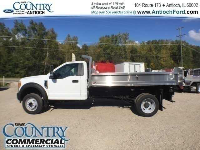 2017 F-450 Regular Cab DRW 4x2,  Monroe Dump Body #T8636 - photo 6