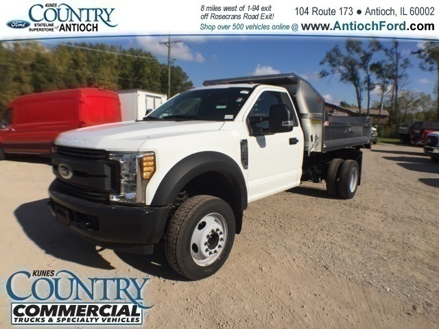 2017 F-450 Regular Cab DRW 4x2,  Monroe Dump Body #T8636 - photo 7