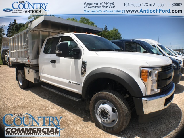 2017 F-450 Super Cab DRW 4x4, Monroe Landscape Dump #T8643 - photo 3