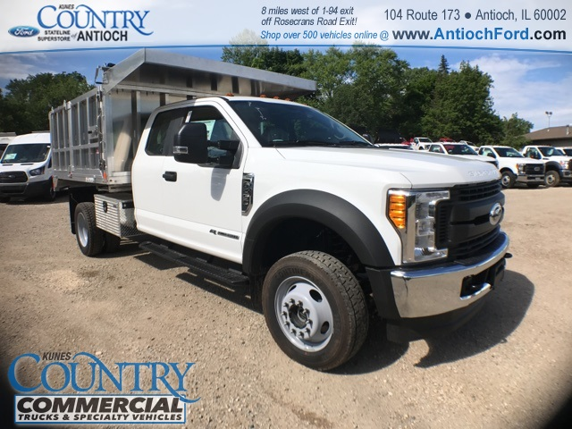 2017 F-450 Super Cab DRW 4x4, Monroe Landscape Dump #T8643 - photo 4