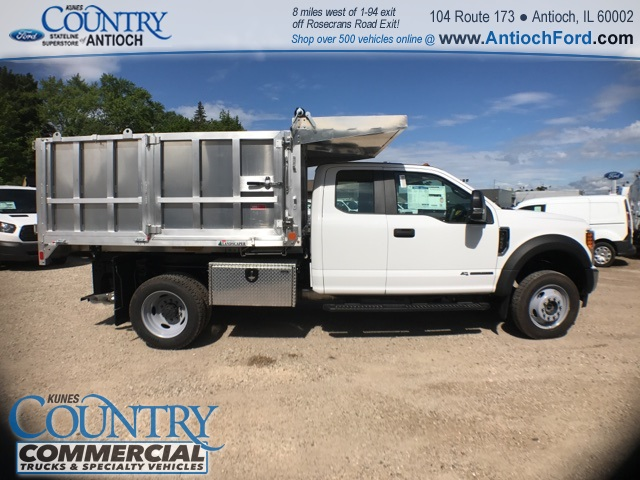 2017 F-450 Super Cab DRW 4x4, Monroe Landscape Dump #T8643 - photo 5