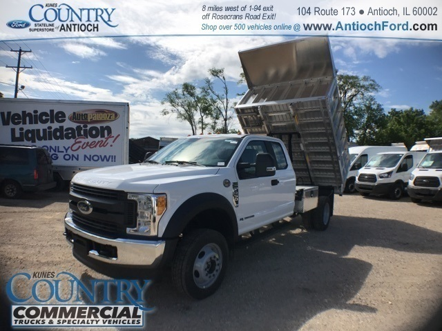 2017 F-450 Super Cab DRW 4x4, Tafco Landscape Dump #T8643 - photo 31
