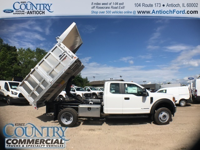 2017 F-450 Super Cab DRW 4x4, Tafco Landscape Dump #T8643 - photo 32