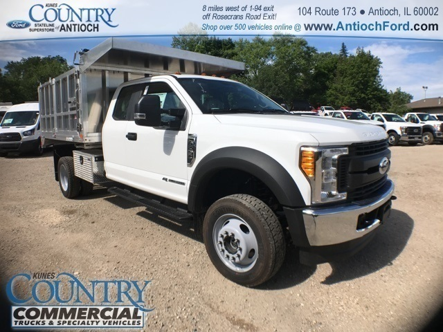 2017 F-450 Super Cab DRW 4x4, Tafco Landscape Dump #T8643 - photo 3