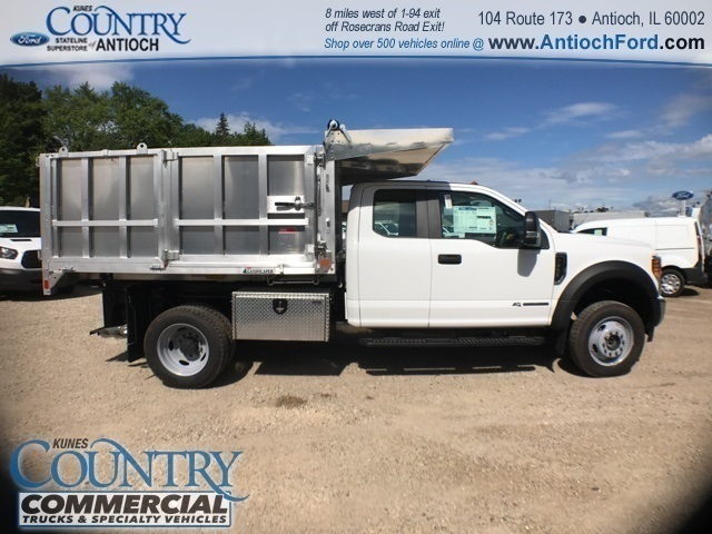 2017 F-450 Super Cab DRW 4x4, Tafco Landscape Dump #T8643 - photo 4
