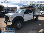 2017 F-450 Super Cab DRW 4x4, Monroe Landscape Dump #T8643 - photo 1
