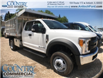 2017 F-450 Super Cab DRW 4x4, Tafco Landscape Dump #T8643 - photo 1