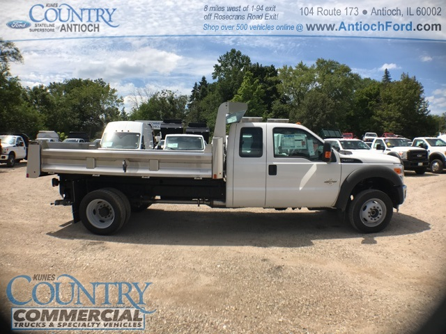 2016 F-450 Super Cab DRW 4x4, Rugby Dump Body #T8649 - photo 3
