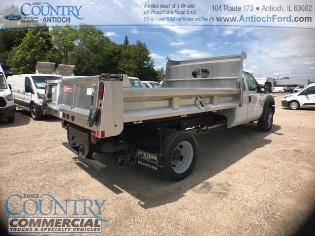 2016 F-450 Super Cab DRW 4x4, Rugby Dump Body #T8649 - photo 2