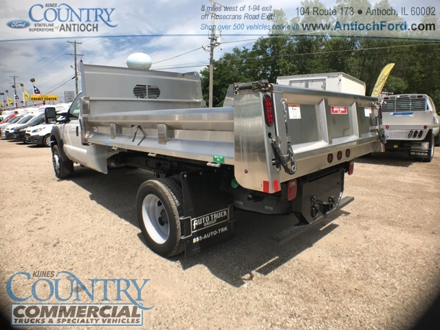 2016 F-450 Super Cab DRW 4x4, Rugby Dump Body #T8649 - photo 5