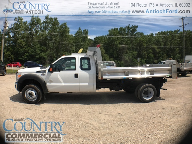 2016 F-450 Super Cab DRW 4x4, Rugby Dump Body #T8649 - photo 6