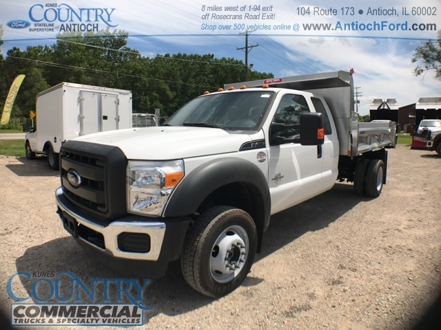 2016 F-450 Super Cab DRW 4x4, Rugby Dump Body #T8649 - photo 7