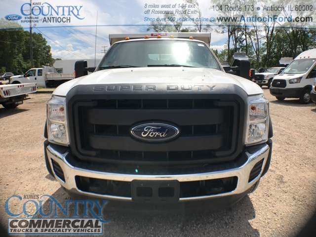2016 F-450 Super Cab DRW 4x4, Rugby Dump Body #T8649 - photo 8