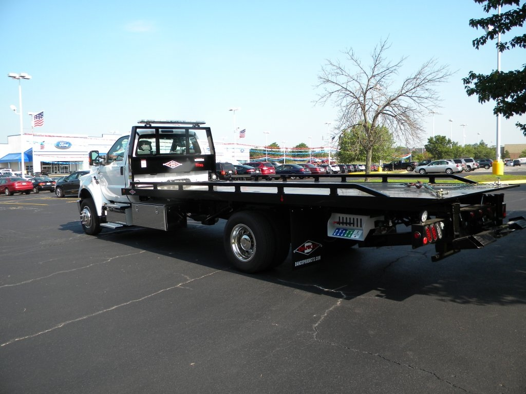 2017 F-650 Regular Cab DRW, Danco Products Rollback Body #TT21044 - photo 2